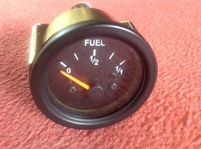 NEW FUEL GAUGE 52 MM Triumph, MG , Scimitar , Kit car. Project White Dial