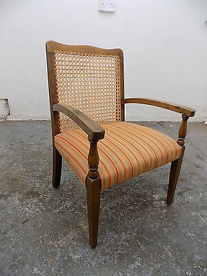 wicker,arm chair,chair,conservatory,hall,bathroom,bed,vintage,1940's,small,beech