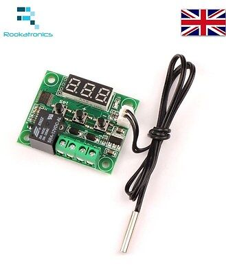 12V Digital Temp Thermostat Temperature Controller Sensor Relay Switch -50-110C