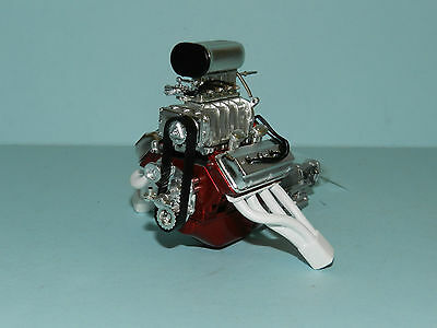 GMP/Acme 1/18 Chrome Gasser Engine Engine and Transmission Great for dioramas