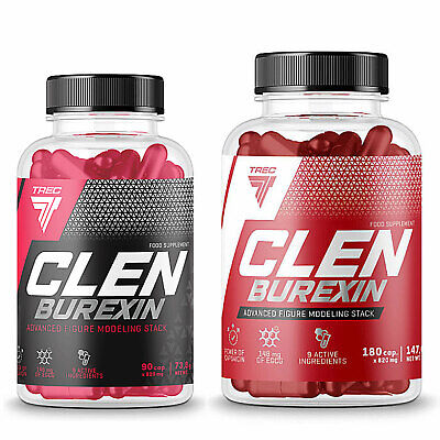 Clenburexin 90-270 Caps. Thermogenic Stimulant Fat Burner Weight Loss Energy