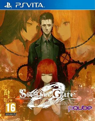 Steins Gate Zero Playstation Ps Vita Game - Brand New And Sealed