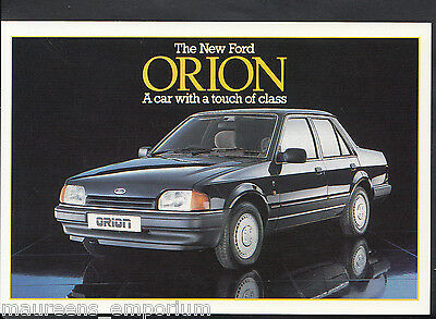 Road Transport Postcard - Ford Orion Ghia With Optional Black Paint   MB2330