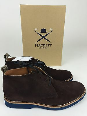 Hackett Boots Botas Piel Leather Stiefel Bottes Stivali Deluxe Size 43 New
