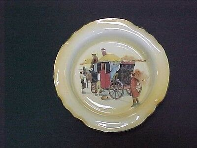 Early 1900's Royal Doulton COACHING DAYS Welsh Dish Superb++ Condition