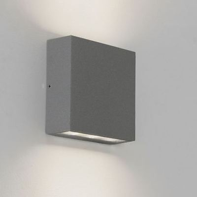 Astro 7204 - Elis Ledoutdoor Up Down Wall Light Silver