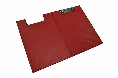 Folder Clipboard Foolscap/A4 Size Document Holder Red Color