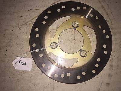 2005 TGB 101S Scooter 49cc  front wheel brake disk rotor