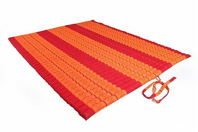 Rollable Thai Mat 150x200  mattress Kapok Thai Mat Rollmat massage Yoga orange
