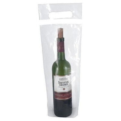Wine Disposable Doggy Bags for Unfinished Wine Convenient for Traveling 50 pack