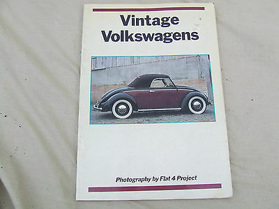 Vw Book,vintage Volkswagens,columbus Books,photo Album Restored Vw's,all Colour