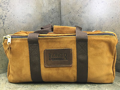 New Bagmaster Leather Pro-Shooter Bag Gun Firearm Ammo Small LPSB S