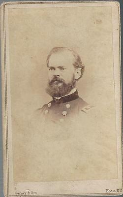 Civil War CDV Union General James B McPherson Killed at Atlanta