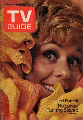 1972 TV Guide July 1 - Carol Burnett; Oscar Hammerstein II