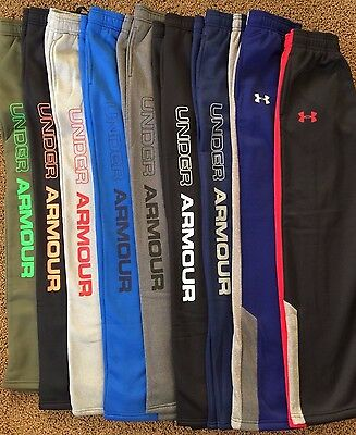 Boy's Youth Under Armour Loose Fit Cold Gear Sweat Pants