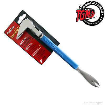 """Estwing Pro Claw Nail Puller 210Mm 9"""" Blue Cushion Grip Pc210G"""