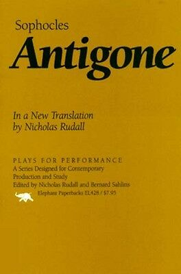 """Sophocles """"Antigone"""" Life in Ancient Thebes Greece 400BC Tragedy Oedipus Creon"""