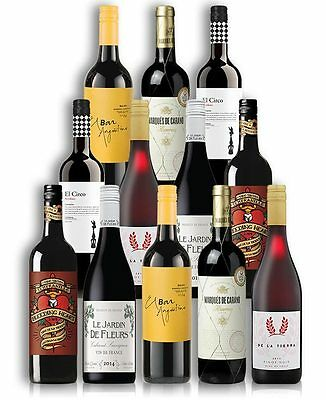 Tempting Imported Red Wine Mix (12 Bottles)