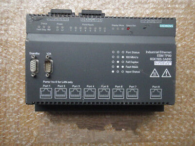 1pc Used Siemens Ethernet switch 6GK1105-3AB10
