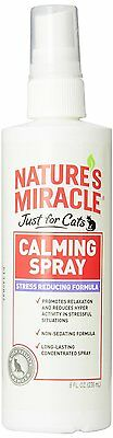 Nature's Miracle Just for Cats Calming Spray Stress Reducing Formula, 8-ounce
