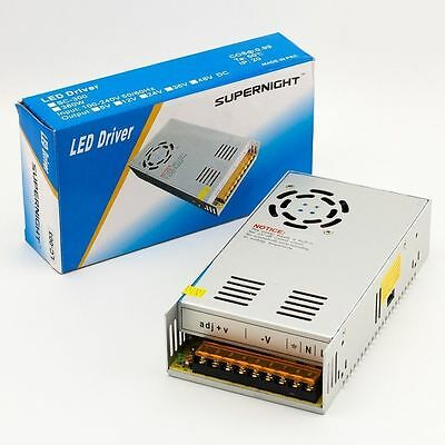 Universal DC 12V 30A 360W Switching Mode Power Supply Adapter F/LED Strip/CCTV