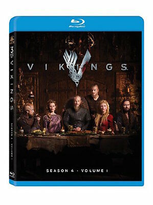 Vikings Blu-Ray - Season 4 Volume 1 [3 Discs] - New Unopened