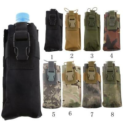 Outdoor Tactical Gear Military Molle System Water Bottle Bag Kettle Pouch Holder