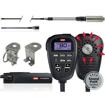 GME TX3350UVP Ultimate UHF Pack with GEN GME 5 YEAR WARRANTY