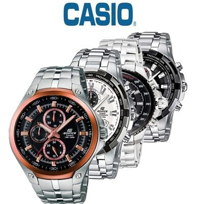 Casio Edifice Gents Stainless Steel Chronograph Watch EF-539D-1AVEF NEW