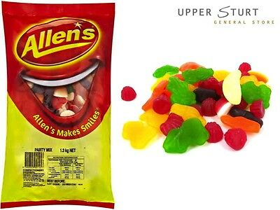 Bulk Allens Lollies – Party Mix 1.3kg. FAST 'N FREE DELIVERY