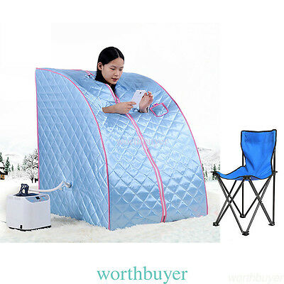 Portable Steam Home Sauna Spa Bath Heater Beauty Weight Loss Slimming New
