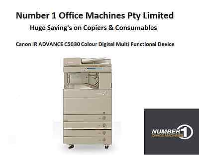 Canon IR ADVANCE C5030 Colour Digital Copier,Network Print,Scan,email,Duplex