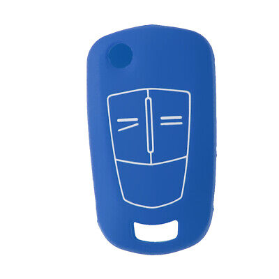Silicone Remote Key Keyless Fob Cover Case Skin for Opel Vauxhall Corsa Vectra
