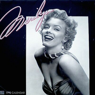 Marilyn Monroe Calendar 1990 Bruno Bernard of Hollywood Publicity Photo Pinup