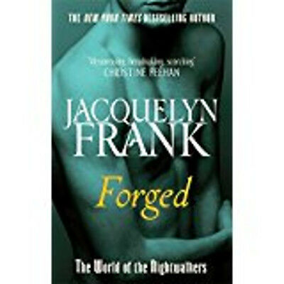 Forged (World of Nightwalkers), New, Frank, Jacquelyn Book