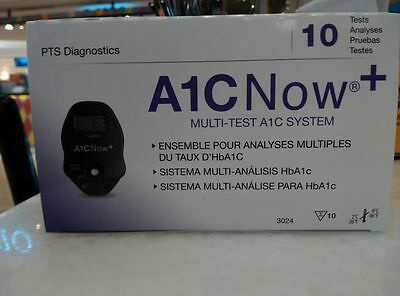 A1Cnow+ POLA2-A1C Now + (meter & 10 test kits) BRAND NEW EXP: 12-23-2017