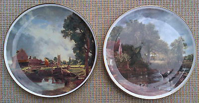 Two Hudson Middleton Plates - Country Scenes.