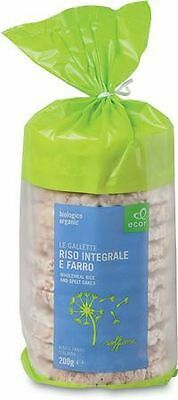 Ecor Organic Wholegrain Rice Cakes with Spelt 200g