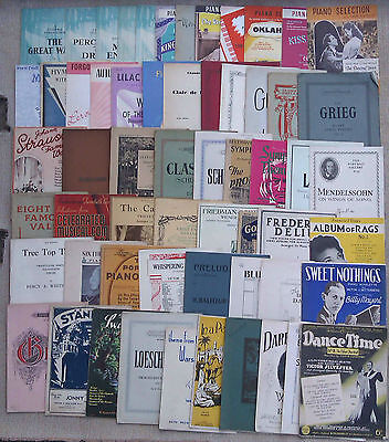Piano - Sheet Music & Booklets For Piano Solos.