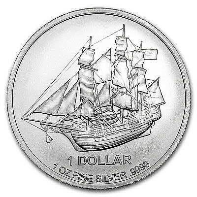 2017 Cook Islands 1 oz Silver Bounty Coin - SKU #102620