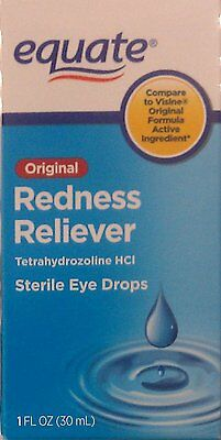 Equate Original Redness Reliever, 1 oz Eye Drops