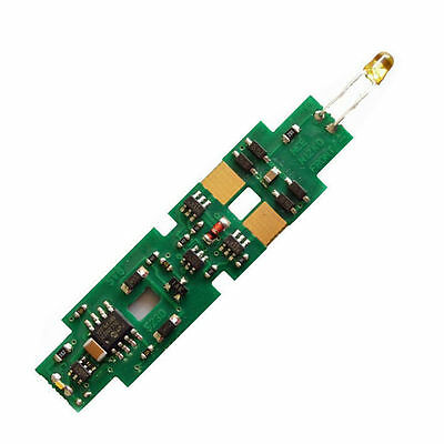 NCE N12K0b N Scale DCC Decoder 4 Function Drop-in Kato F2 F3 F7 524-143