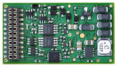 TCS WOW121 Diesel HO Scale DCC 16-Bit 21-Pin Plug-in Sound Decoder 1527