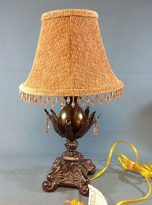 """VINTAGE TABLE LAMP With Shade 18"""" TALL"""