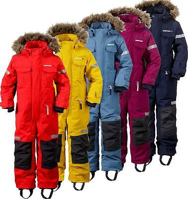 Didriksons Migisi Kids Coverall Waterproof Insulated Snowsuit All In One