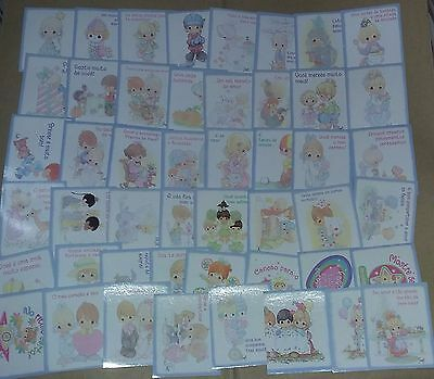 Precious Moments - Lot of 100 Different Stickers