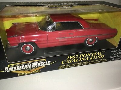 ERTL American Muscle 1962 Pontiac Catalina 421SD Limited Edition Die Cast 1/18