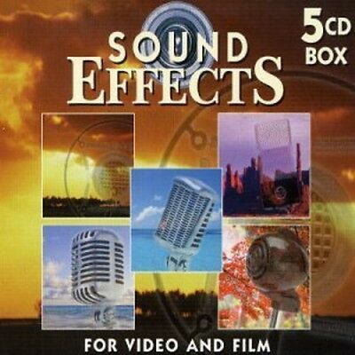 Various Artists, Sound Effects (5CD Box) - Sound Effects 2 [New CD] Boxed Set