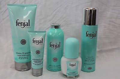 Fenjal Luxury Bath Skin Treatments, Powder, Hand Creme, Deodorant, Wash