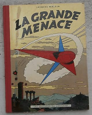 Lefranc La Grande Menace EO 1954 + Point Martin